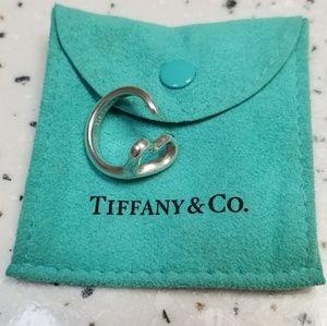 Authentic Elsa Peretti Open Heart Tiffany Ring